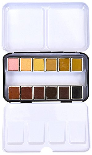 Prima Marketing 655350631857 Watercolor Confections: Complexion, 12 Count