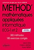 Mathématiques appliquées - ECG 1re et 2e années - Nouveaux programmes