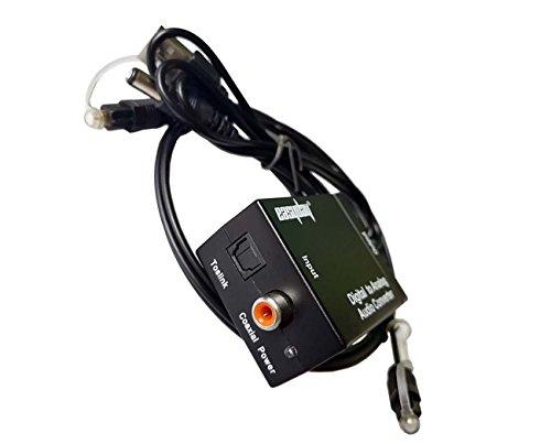 Easyday - Convertidor de audio digital analógico, DAC Digital Optical Coax to...