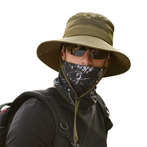 TAGVO Sombrero Ancho Sombreros para el Sol Protección UV Sombreros de