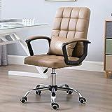 LYLY Silla de Oficina Silla giratoria Adecuada for sillas de Escritorio de...