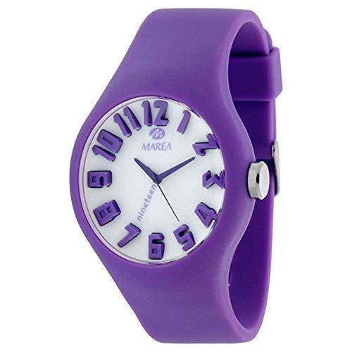 35505-14 Marea Silikon Uhr, Unisexuhr im 3D Optik