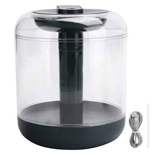 Cerlingwee Humidificador, Spray de 2 velocidades, luz Nocturna Ajustable, 5 V, 1000 ml, humidificador de Escritorio Verde táctil Inteligente para la Oficina del Dormitorio de Hoom