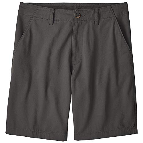 Patagonia Herren M's Four Canyon Twill Shorts-10 In. Kurze Hose, grau (Forge Grey), 32