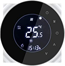 TOOGOO Two-Regulated Central Air Conditioner With Wifi Lcd Thermostat Smart Life Application