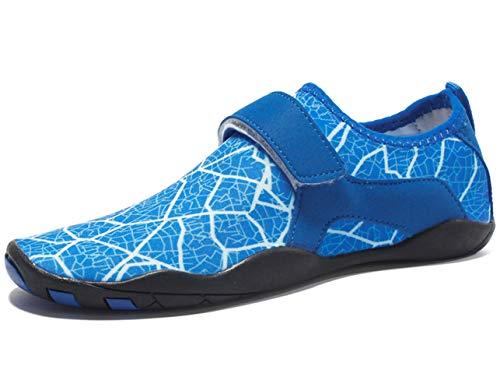 GJRRX Damen Herren Schwimmschuhe Schnell Trocknend Schuhe Unisex Strandschuhe Aquaschuhe Badeschuhe Wasserschuhe Surfschuhe für Gehen Yoga See Strand Garten Park Fahren Bootfahren 35-46
