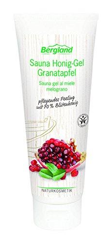 Bergland Sauna Honig-Gel Granatapfel, 1er Pack (1 x 125 g)