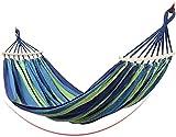 ZJDU Portátil Hamaca portátil al Aire Libre Ligero Solo Persona Viajes Hamaca al Aire Libre múltiplos de Carga portátil portátil con Bolsa de Transporte para Patio Patio jardín 200x100cm por LUSE por