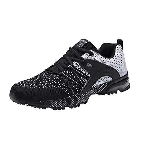 Zapatillas de Deporte Hombre Mujer Respirable para Correr Deportes Zapatos Running Calzado Deportivo...