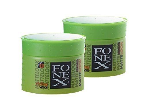 2 x FONEX Matte-Look Haarwachs 100g ✓ Bestseller ✓ Extremer Halt ✓ Kein Verkleben