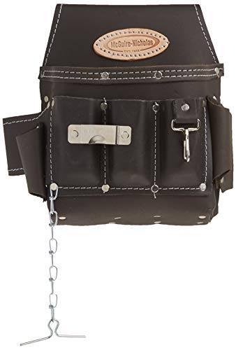 McGuire-Nicholas 526-CC Brown Professional Electrician'S Pouch, oil tanned...