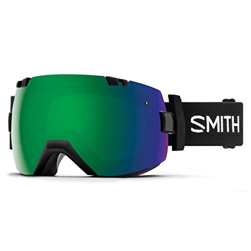 Smith Erwachsene I/OX Skibrille, Black, L