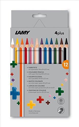 Lamy FH22004 -Farbstift 4plus 12er Faltschachtel,Modell 525