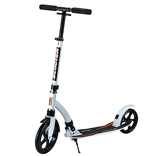LJHBC Patinete Fácil de Plegar Pedal de Aluminio Adolescente Adulto Campus de...