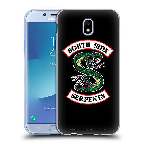 Head Case Designs Oficial Riverdale Serpientes del Lado Sur Arte Gráfico Carcasa de Gel de Silicona Compatible con Samsung Galaxy J7 2017 / Pro