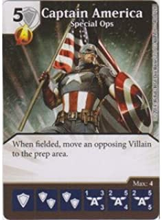 Dice Masters - Captain America: Special Ops