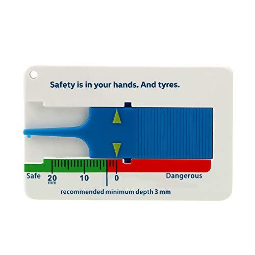 iTimo 0–20 mm Tiefe Meter Vernier Tiefenmessschieber Reifen Profiltiefenmesser Reifen Maßstab Motorrad Caravan Trailer Rad Measure Tool