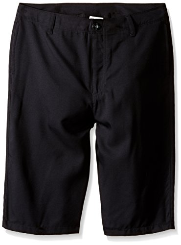 Under Armour Boys' Medal Play Golf Shorts, Black/Graphite, Youth Small