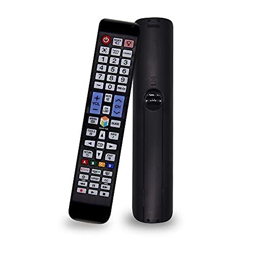 SIUMAL Mando a Distancia Universal TV para Todas Samsung Smart TV LCD LED HDTV Plasma 4K 3D TVs con retroiluminación Netflix Amazon Buttons