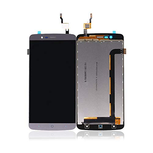 Un known Handy-Replaceable for LCD mit Digitizer for ELEFON P8000 LCD-Display mit Touch Screen Ersatz Maschinenteile (Color : Black, Size : 5.5
