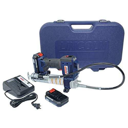 Lincoln 1884 20V Li-Ion PowerLuber Dual Battery Unit with Charger and...