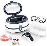 Uten Ultrasonic Cleaner 600ml Ultra Sonic Jewellery Cleaner with Cleaning Dentures Jewelry Glasses
