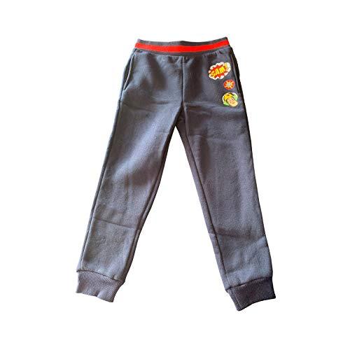 Samoja Kids Jogginghose Feuerwehrmann Sam – Trainingshose für Jungen aus Molton – offizielles Lizenzprodukt – Farbe Blau – Größe 4 Jahre