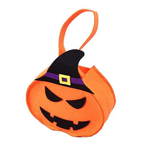 LQH Los favores Bolsa de decoración del Regalo del Partido de la Bolsa de Almacenamiento portátil Caramelo de Halloween Bolsas (Size : D)