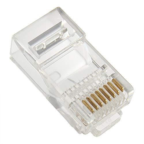 Nieuwe RJ45 CAT5 Crystal Modular Plug LAN-netwerkaansluiting