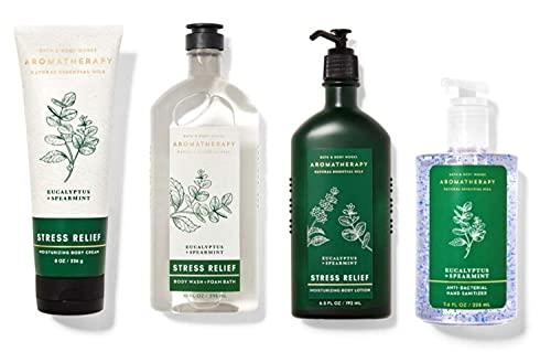 Bath and Body Works Aromatherapy Eucalyptus Spearmint Premium Gift Kit -...