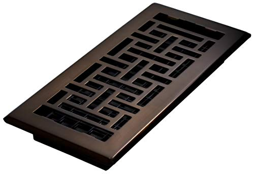 Decor Grates AJH410-RB Oriental Floor Register,...