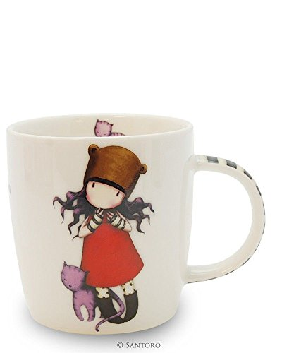 Gorjuss By Santoro 3628729031 - Gorjuss taza pequeña purrrrrfect love