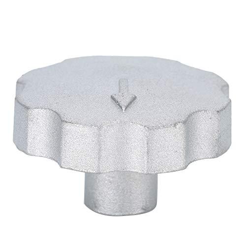 Changor Accesorio de alimentación de pigesto, Material automático de aleación de Zinc del tazón de endurecio 4x2.5cm Hecho de aleación de Zinc