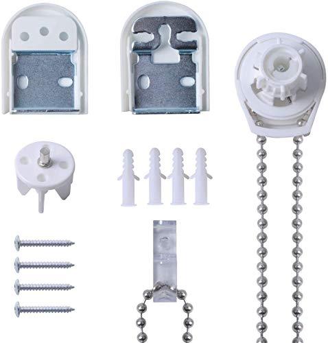 Poweka Kit de Reparación de Persianas Enrollables de Metal 25mm,