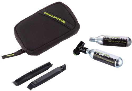 Cannondale Cartuchos Inflación Airspeed CO2Fill Kit, 3co202kit/BLK