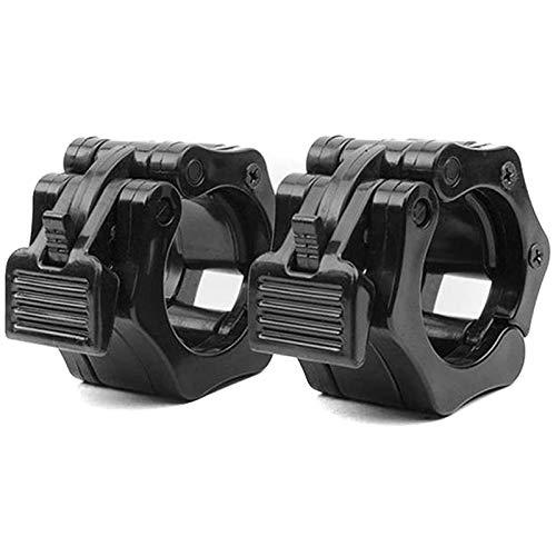 Bobotron - Cierre de barra de pesas de 28 mm de tamaño olímpico para levantamiento de pesas, liberación rápida, 1 par