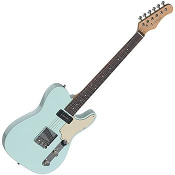 Stagg SET-CST BK Vintage Series Negro guitarra eléctrica: Amazon ...