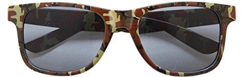 Widmann 01102 Lunettes Motif camouflage avec verres fumé, en taille unique
