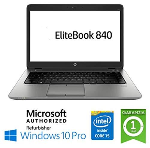 Notebook EliteBook 840 G1 i7-4600U SSD 240 GB RAM 8 GB SSD 14