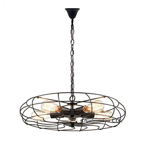 億兆堂 照明 ペンダントライト 5灯 レトロ アンティーク 工業北欧風 照明器具 天井ダイニング 居間 寝室