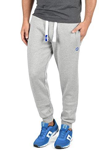 !Solid Benn Herren Jogginghose Sweatpants Sporthose mit kuscheliger Fleece-Innenseite aus hochwertiger Baumwollmischung Meliert, Größe:XL, Farbe:Light Grey Melange (8242)