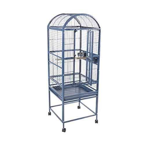 A&E Cage 9001818 White Dome Top Bird Cage, Small