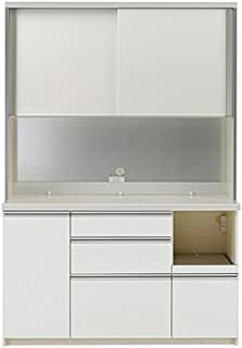 パモウナ 食器棚 幅140×高さ198×奥行50 日本製 WLR-1400R