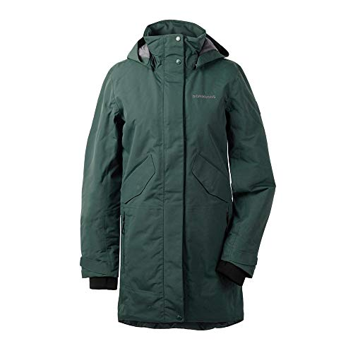 Didriksons Tanja Parka 3 Women - Regendichter Wintermantel, North Sea, 44