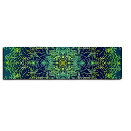 Mandala Prints Skateboard-Aufkleber, Longboard-Klebeband, rutschfest, für Skaten, Roller, Longboard, Roller, Treppen und Pedal, 22,9 x 83,1 cm