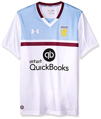 Aston Villa 16/17 Away S/S Football Shirt - White - size M