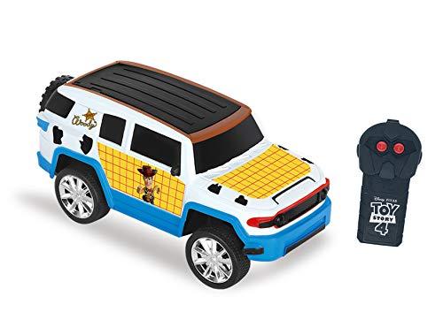 Carro de Controle Remoto Fun Driver, Woody, Toy Story, 3 Funções, Candide