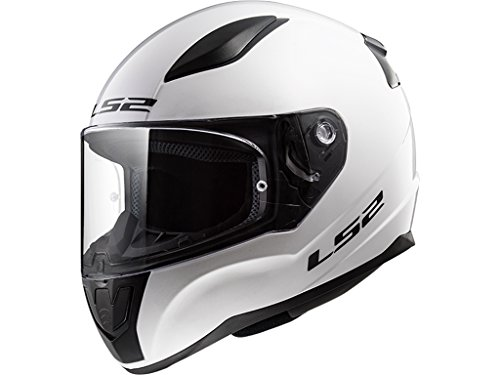 LS2 Motorradhelm RAPID, Weiß , Größe L