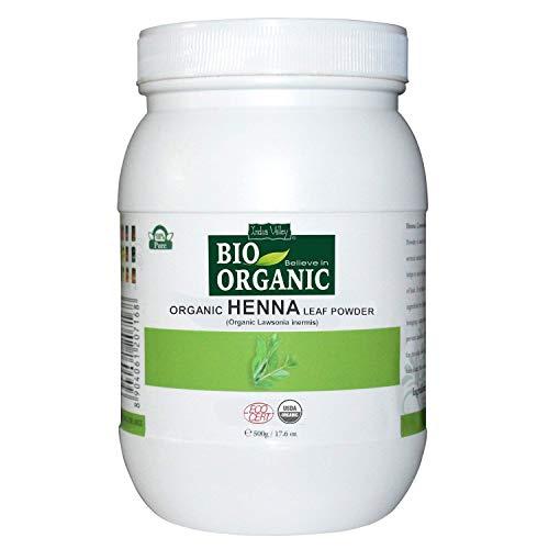 SPARE INDUS VALLEY Henna Leaf Powder- 100% Natural Lawsonia Inermis Organic -(500gm)