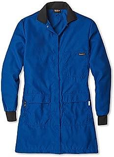 Workrite Uniform 354CH45RBLG 00 Womens Flame-Resistant//Chemical Protection Lab Coat Large Size Nomex IIIA Fabric Royal Blue Workrite Uniform Company Inc 4.5 oz